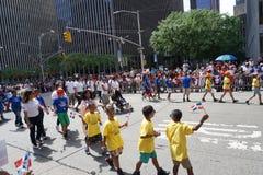 Le défilé dominicain 35 de jour de 2015 NYC Photo libre de droits
