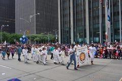 Le défilé dominicain 55 de jour de 2015 NYC Photographie stock