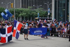 Le défilé dominicain 56 de jour de 2015 NYC Images stock