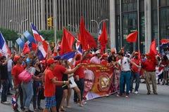 Le défilé dominicain 70 de jour de 2015 NYC Photographie stock
