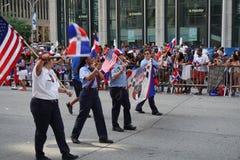 Le défilé dominicain 76 de jour de 2015 NYC Photo libre de droits