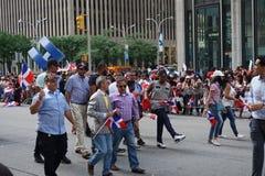 Le défilé dominicain 79 de jour de 2015 NYC Photos stock