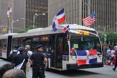 Le défilé dominicain 81 de jour de 2015 NYC Image stock