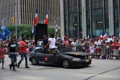 Le défilé dominicain 89 de jour de 2015 NYC Images stock