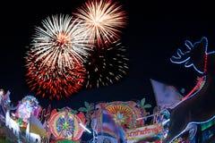 Le défilé du festival d'étoile de Noël en Thaïlande Photographie stock
