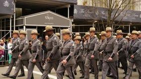 Le défilé 2015 du jour de St Patrick 161 Image stock