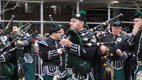 Le défilé 2015 du jour de St Patrick 178 Image libre de droits