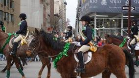 Le défilé 2015 du jour de St Patrick 193 Image stock