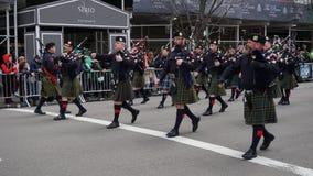 Le défilé 2015 du jour de St Patrick 33 Images stock