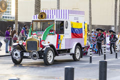 Le défilé Dubaï du centre Photos libres de droits