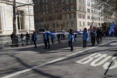 Le défilé grec 3 de Jour de la Déclaration d'Indépendance de 2016 NYC photo stock