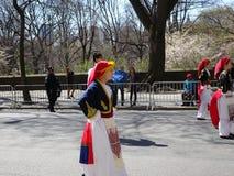 Le défilé grec 54 de Jour de la Déclaration d'Indépendance de 2016 NYC photo stock
