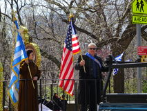 Le défilé grec 60 de Jour de la Déclaration d'Indépendance de 2016 NYC images stock