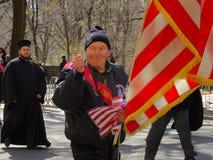 Le défilé grec 84 de Jour de la Déclaration d'Indépendance de 2016 NYC photos libres de droits
