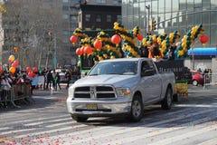 Le défilé lunaire chinois 142 de la nouvelle année 2015 Images stock