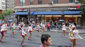 Le défilé New York 13 de 2013 danses Image libre de droits