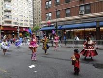 Le défilé New York 117 de 2013 danses Photographie stock libre de droits