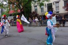 Le défilé New York 14 de 2014 danses Images libres de droits