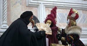 Le déguisement dans le carnaval Photos stock
