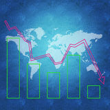 Concept d'économie mondiale Photographie stock