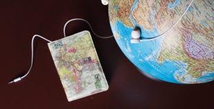 Le déplacement autour du monde, où devrait je commencer image libre de droits