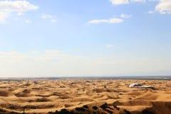 Le désert Photo libre de droits