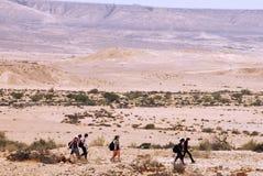 Le désert du Néguev - Israël Photographie stock