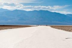Le désert du sel de Death Valley Photo libre de droits