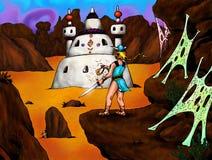 Le désert magique (2005) Images stock