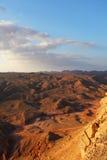 Le désert Sinai en décembre Photographie stock libre de droits
