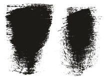 Le détail élevé de fond large de pinceau que le fond de vecteur de résumé a placé 87 illustration de vecteur
