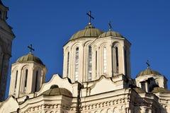 Le détail de l'architecture des églises orthodoxes Image libre de droits
