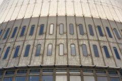 Le détail des émetteurs de télécommunication dominent sur Jested, Liberec, République Tchèque Photo libre de droits