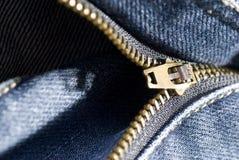 Le détail des jeans se ferment vers le haut Image stock
