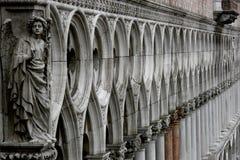 Le détail sur le St marque la basilique Images stock