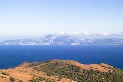 Le détroit du Gibraltar Photos stock