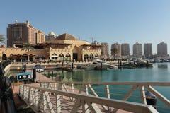 Le développement de perle au Qatar photos stock