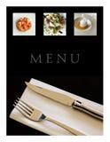 Le dîner de mariage avec de la viande de roulis a fumé et des tomates Photographie stock libre de droits