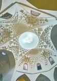 Le dôme de Ganjali Khan Bathhouse, Kerman, Iran photos libres de droits