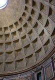 Le dôme du Panthéon à Rome, Italie photographie stock