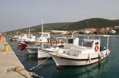 Île d'Agistri, Grèce Photos libres de droits
