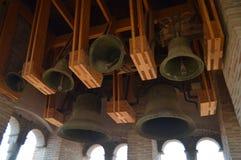 Le 26 d?cembre 2013 Tour de Bell de l'humanité de l'architecture Mudejar d'Aragon dans l'église de San Pedro Dating In The XIV photos libres de droits