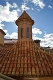 Le 26 d?cembre 2013 Tours Mudejar de style de l'?glise du si?cle de San Pedro Dating In The XIV ? Teruel Teruel, Aragon, Espagne images libres de droits