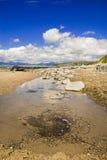 Île d'interpréteur de commandes interactif, Pays de Galles du nord Image libre de droits