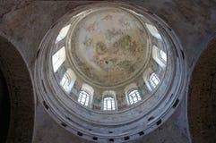 Le dôme de l'église orthodoxe Photographie stock