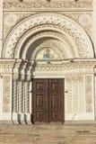 Le dôme de la cathédrale d'ascension à Novocherkask, Russie photographie stock libre de droits