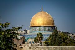 Le dôme de la roche, Jérusalem Image libre de droits