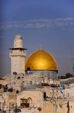 Le dôme de la roche, Jérusalem, Israël Photographie stock libre de droits