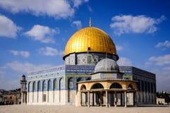 Le dôme de la roche, Jérusalem, Israël Images libres de droits