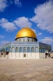 Le dôme de la roche, Jérusalem, Israël Photo libre de droits